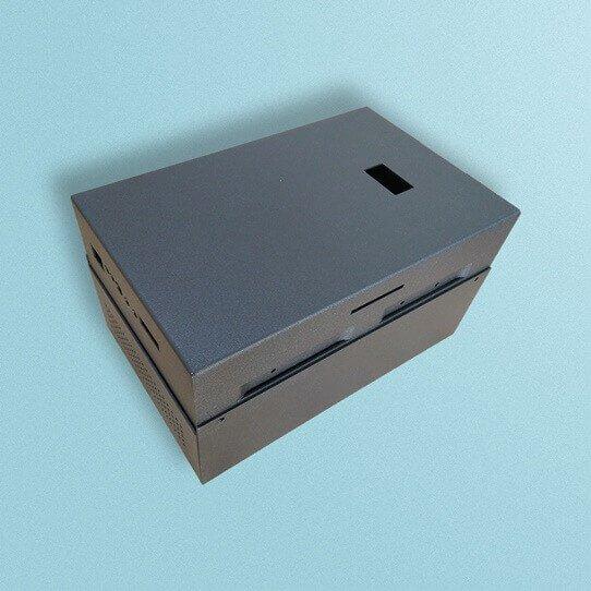 Kundenspezifisches Design von Blechgehäusen für Aluminiumteile - Rapid Prototyping Manufacturing Service