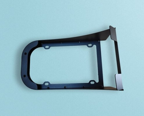 Custom Sheet Metal Parts Components For Wall Mount Bracket 495x400 - Custom Sheet Metal Parts For Rapid Prototyping