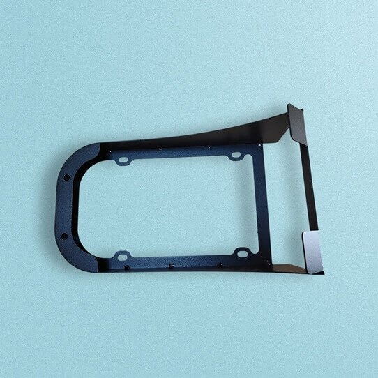 Custom Sheet Metal Parts Components For Wall Mount Bracket - Custom Precision Sheet Metal Fabrication Services