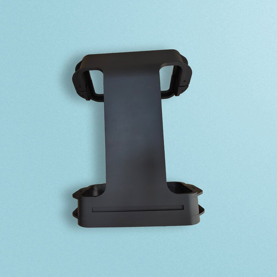 SLA printing with matt black painting - Simple Rapid Prototyping Design and SLA 3d Printing Service
