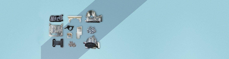 خدمات النماذج الأولية السريعة Custom Injection Mould Parts - HOME