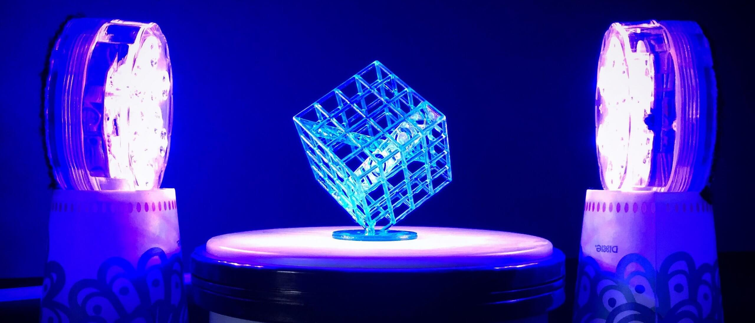 3D Printing post processing Curing by UV curing lamp scaled - What is 3d printing and how does it work?