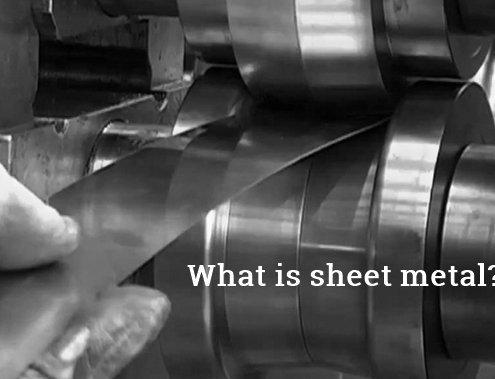 What is sheet metal?